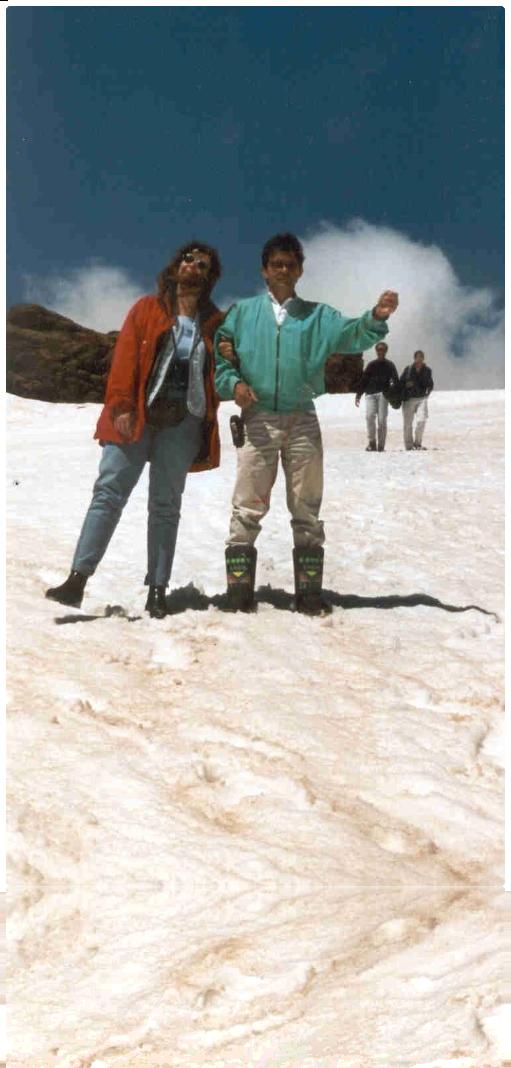 Alpen Moni und Hans